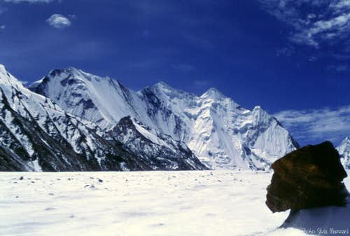 Chogolisa seen from Vigne Glacier