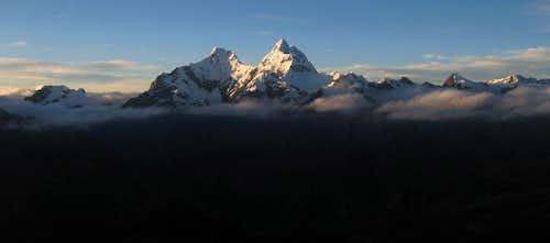Cordillera Blanca panorama