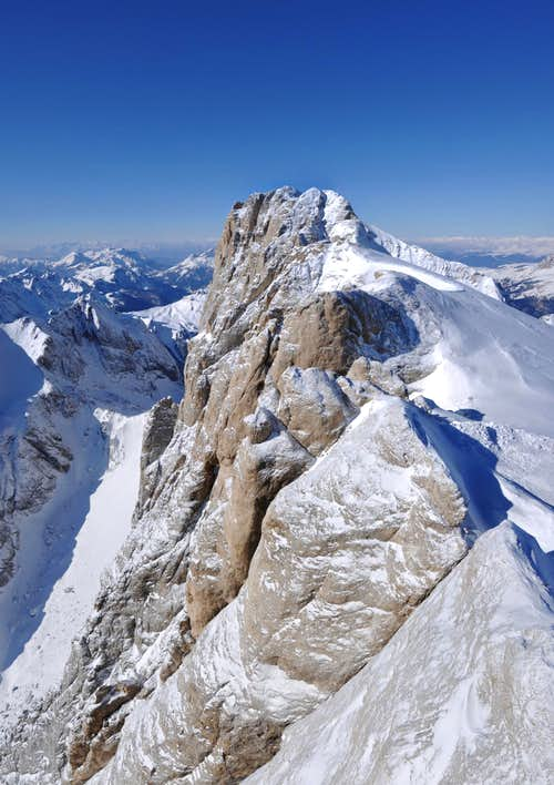 Deep view: South Face of Marmolada