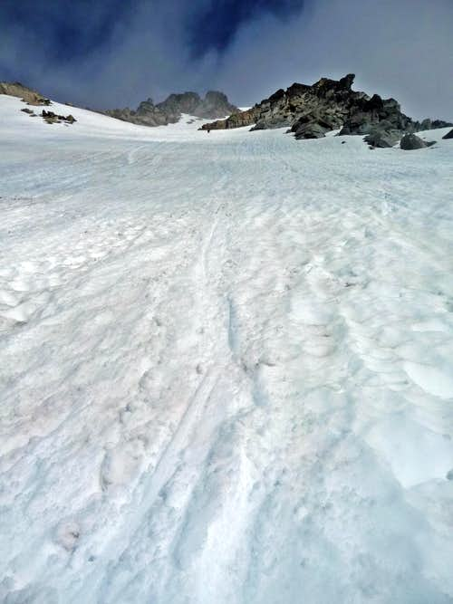 Upper Snowfield on Stuart
