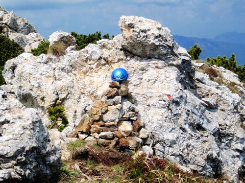 Lorenzo Massarotto Cairn on Torre d\'Emmele