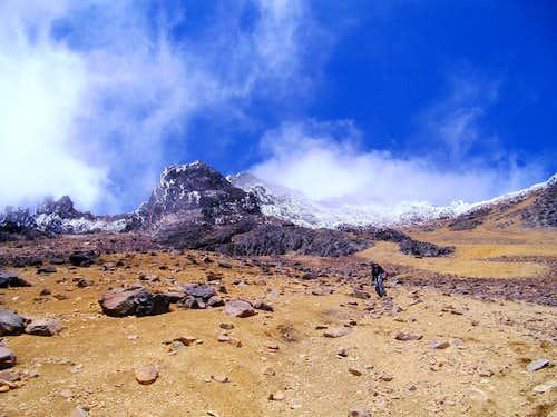 Iliniza Norte Descent