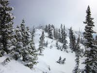Bells Cleaver summit ridge