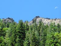 east face of Jacks Backbone