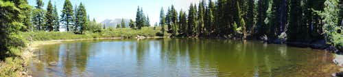 Backbone Lake panorama