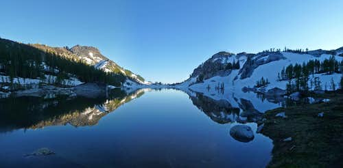 Perfection Lake Panorama