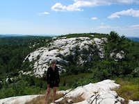 The view from Silver Peak, Killarney Provincial Park, Ontario, Canada
