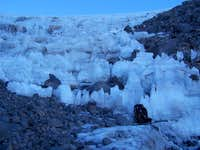 Strange ice formations