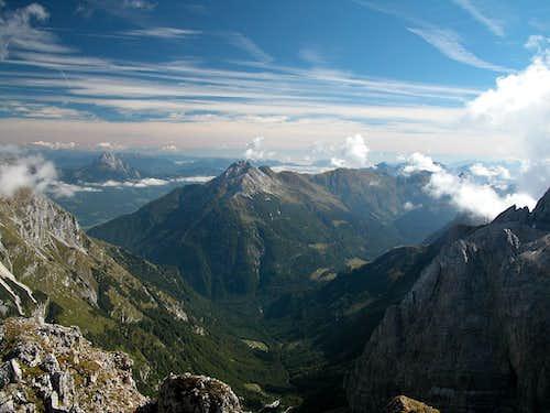 Summit view Rauchkofel:...