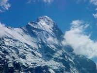 The summit region of eiger...