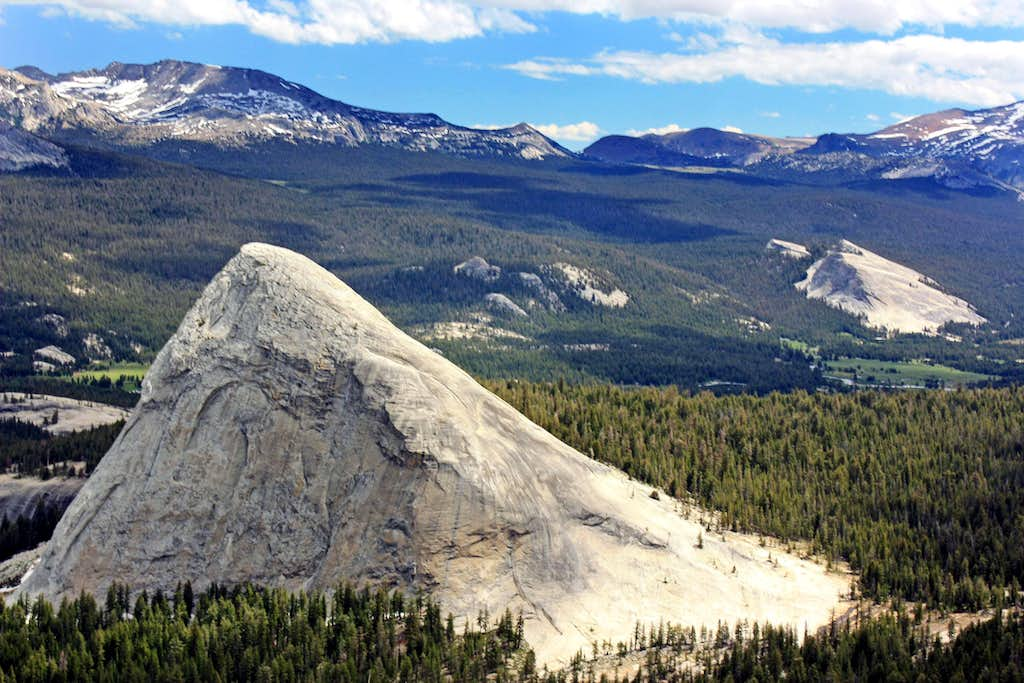 Fairview Dome and Lembert Dome