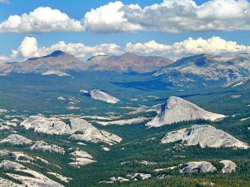 Domes of Tuolumne Meadows