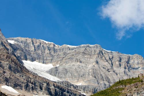 Along the Plain of Six Glaciers Trail