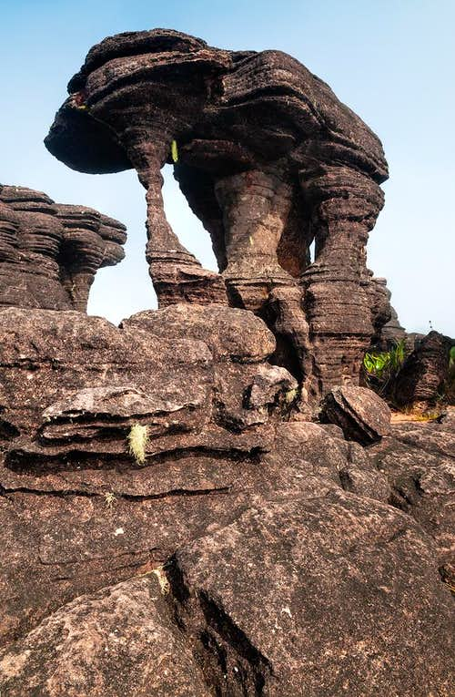 rock formation - the mammuth?