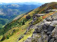 Colorful slopes of Silver Star