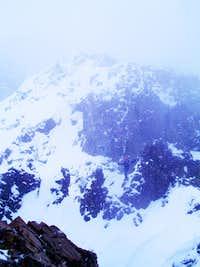 Tim Foltz on Nokhu Crags