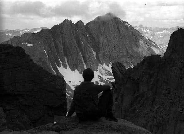 Mt Tyndall & Virginia Adams