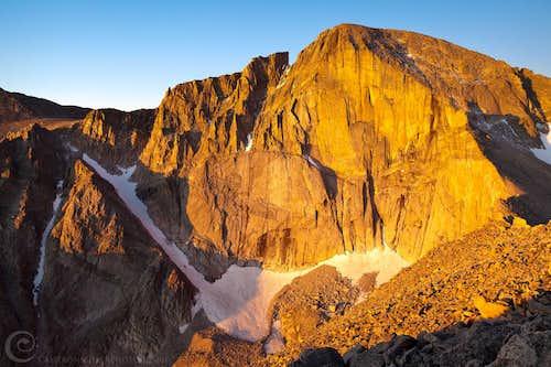 Morning Light on Longs Peak