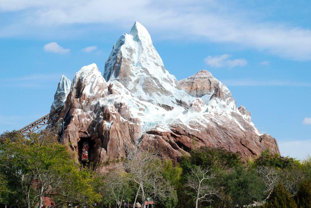 Mt. Everest at Animal Kingdom