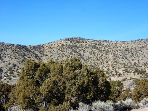 Peak 6030 from the upper slopes of Peak 6021