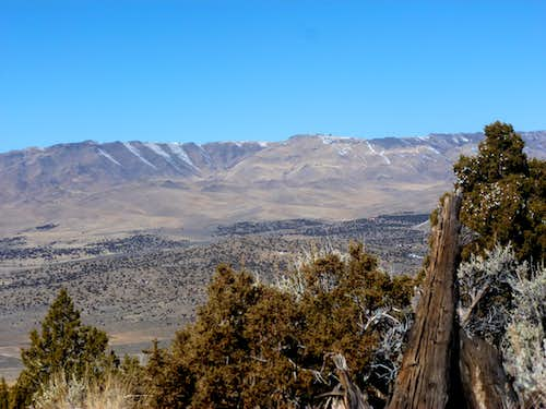 Petersen Mountains from Peak 6030 north of Lemmon Valley