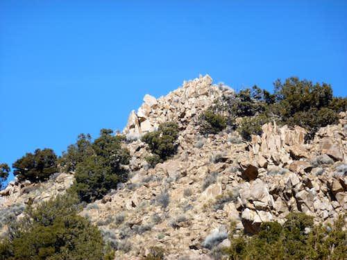 Final rocks up to Peak 6021