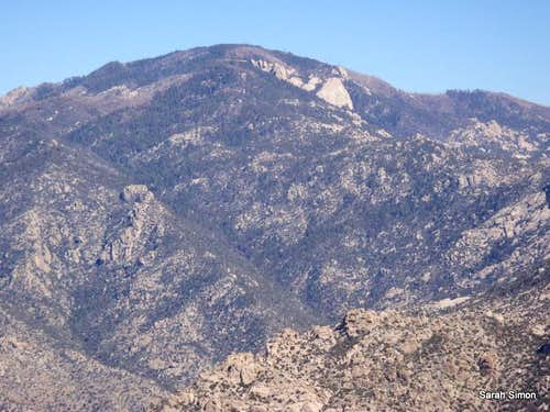 Mount Lemmon Summit Crags