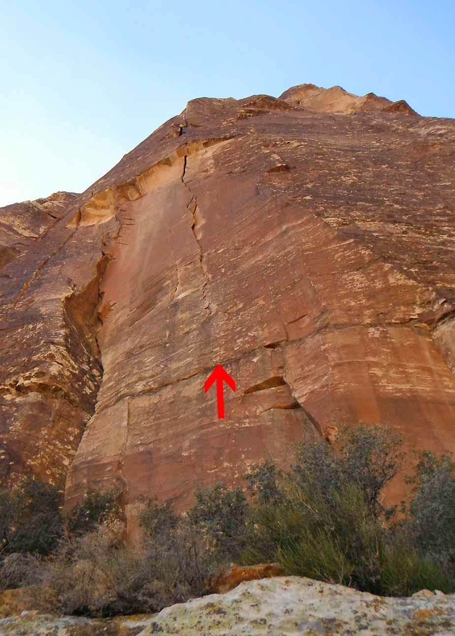 Ixtlan, 5.11c, 8 Pitches