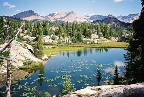 Wind River Chronicles Part I ~ Cook Lakes