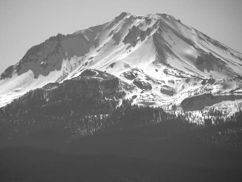 Lassen Peak north aspect