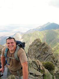 On the summit of the Needle