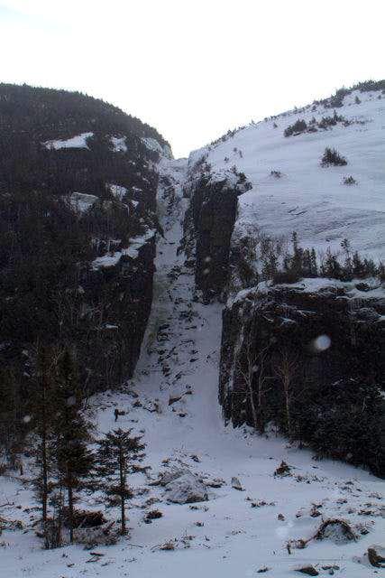 Trap Dike Ice Climb, Feb 2012