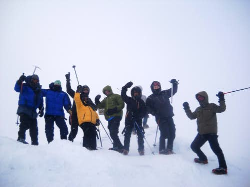 Mt. Washington, NH - Winter Climb - Feb 20th 2012