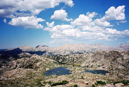 Tarns NW of Lester Pass