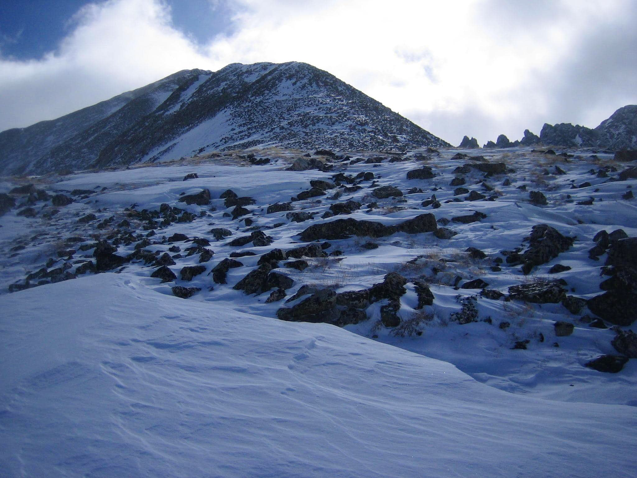 Atlantic Peak West Ridge – 2/26/2012