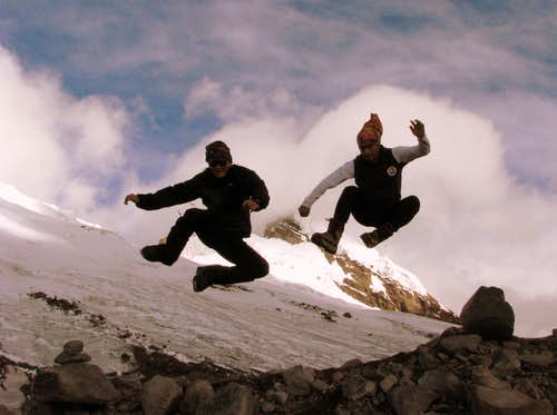 Antisana's Moraine Jump
