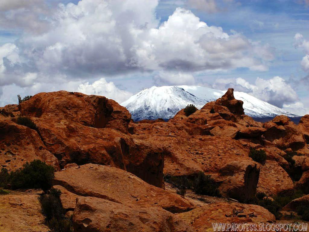 Cañapa volcano