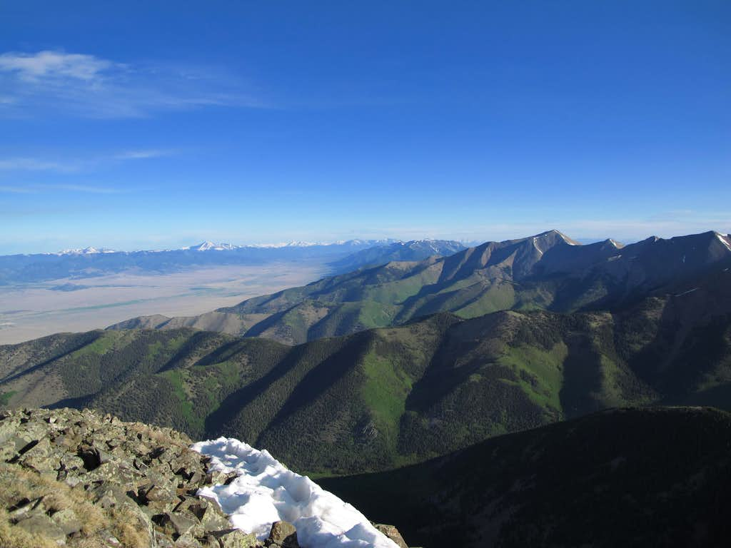 View north from atop Mt. Owen