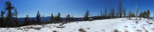 Sugarloaf Peak summit panorama
