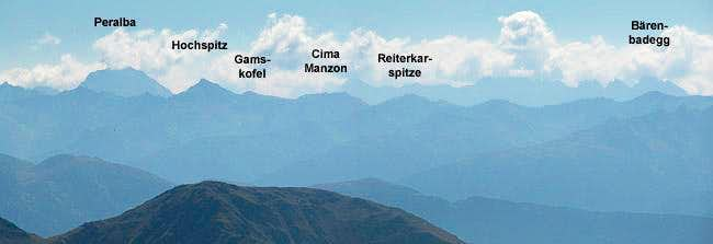Part 2 of the Carnic Alps...