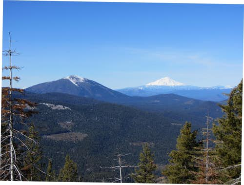 Burney Mountain & Mount Shasta