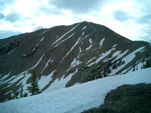 Approaching Grays Peak from...