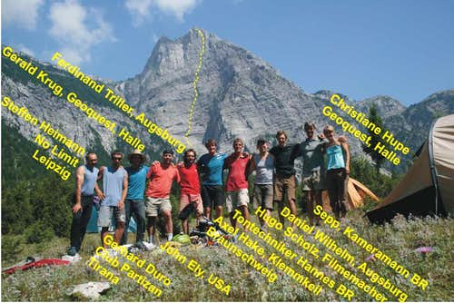 Raki on Arapi - Expedition Group Photo