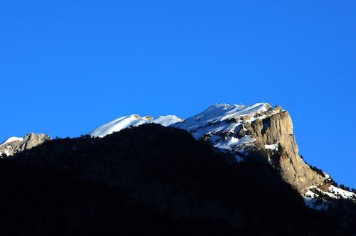 Picos de los Lecherines south ridge