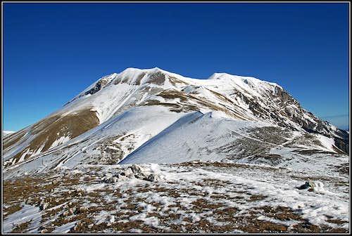 Monte Vettore from Forca di Presta