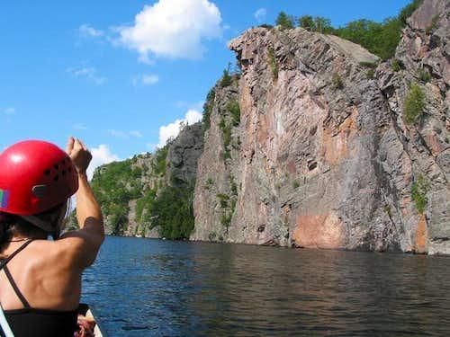 Mazinaw Rock as it looks...