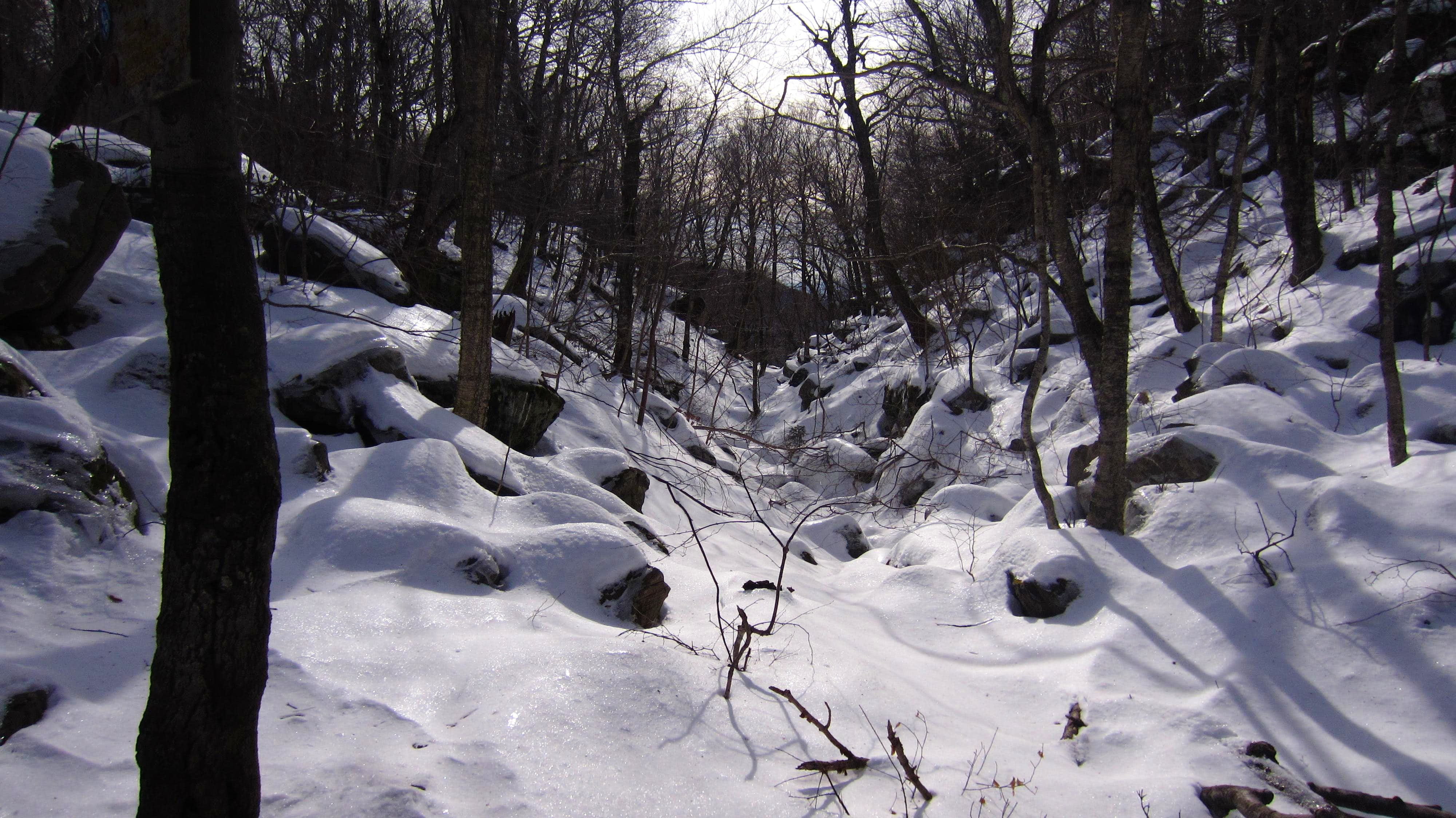 Winter fun on the Devil\'s Path