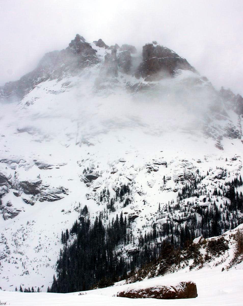 Arrowhead in Mist