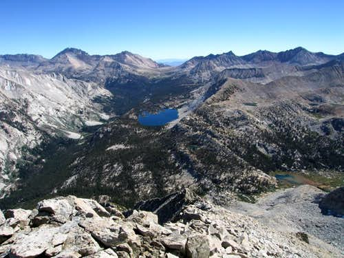 Taboose Pass from Arrow Peak