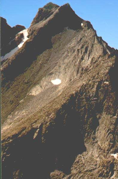 Summit detail of E Face of...